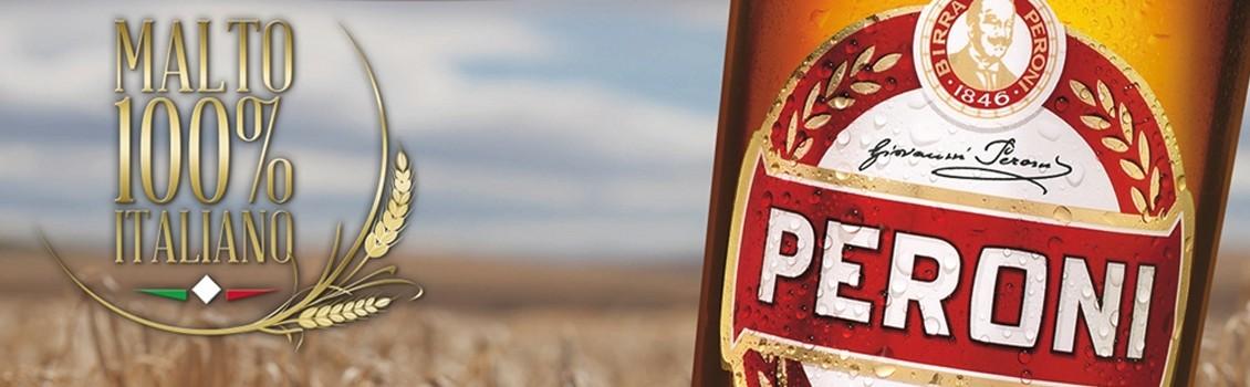 La birra Peroni si beve Budweiser